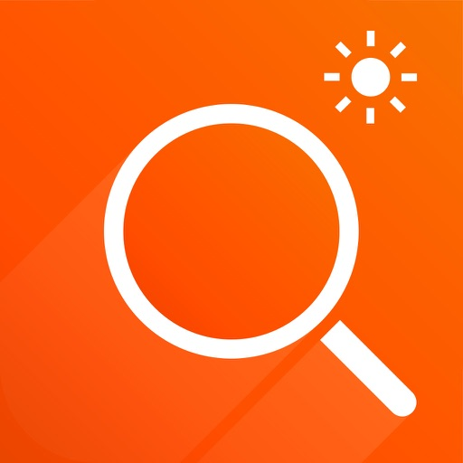 Flash Magnifier - A magnifying glass with light